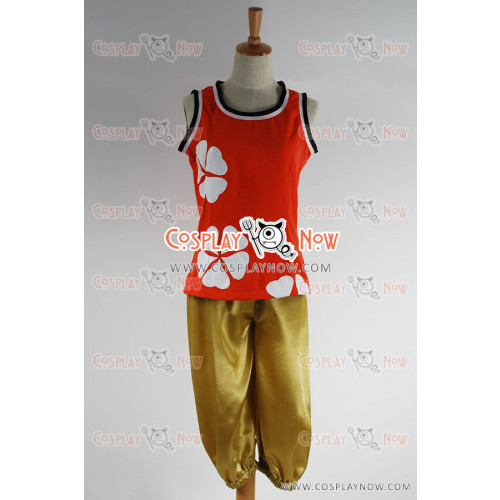 Kingdom Hearts Olette Cosplay Costume