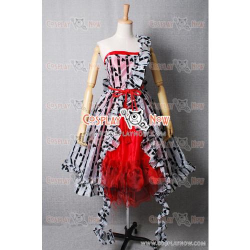 Alice In Wonderland Cosplay Alice's Um Red Court Dress