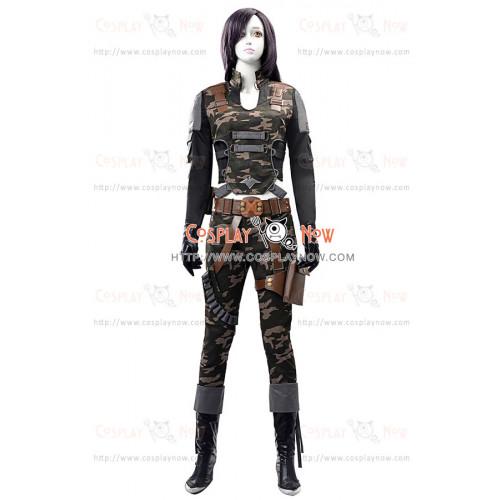 Black Widow Monica Costume For Assault Fire Cosplay